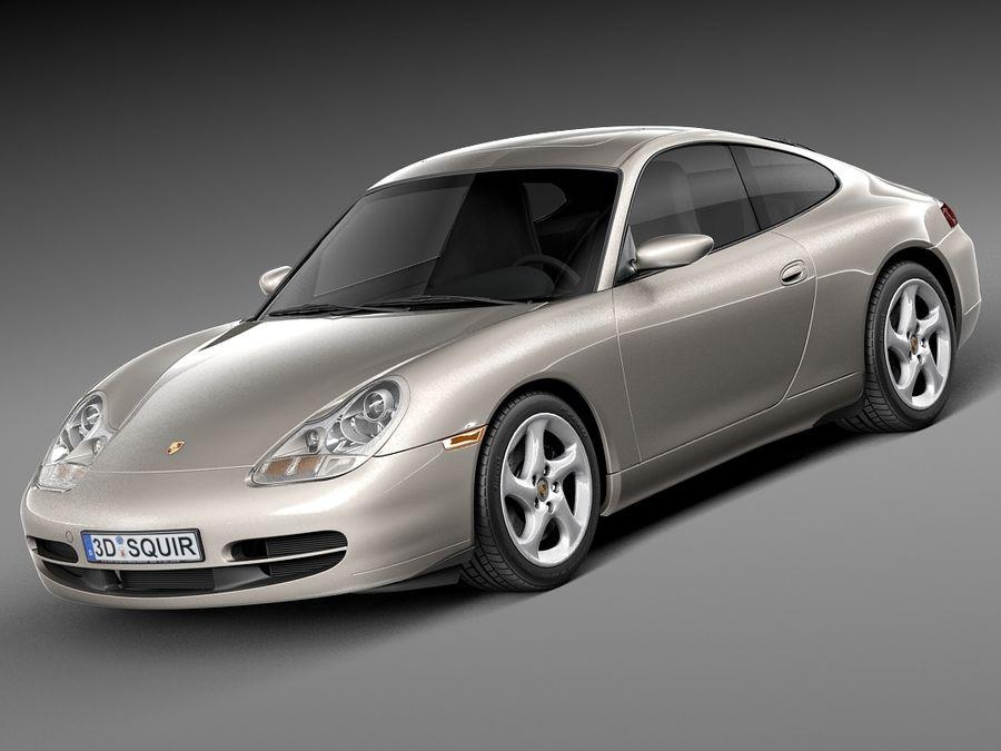 Porsche 911 996 Carrera 1997-2001 royalty-free 3d model - Preview no. 1