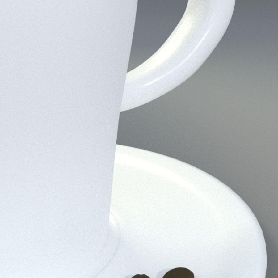 Espresso Cup royalty-free 3d model - Preview no. 3