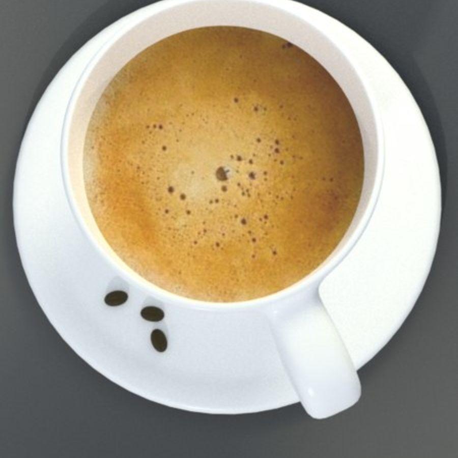 Espresso Cup royalty-free 3d model - Preview no. 2