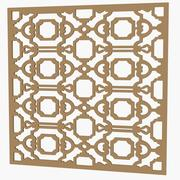 Decorative Panel 01 3d model