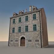 Italian Building 006 3d model