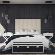 Elegant Bedroom 3d model