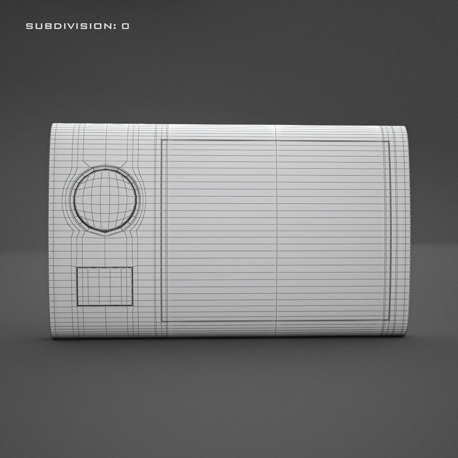 Домофон KENWEI royalty-free 3d model - Preview no. 12