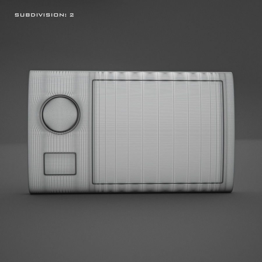 Домофон KENWEI royalty-free 3d model - Preview no. 16
