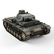 Pz 3E 3d model