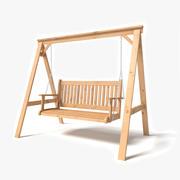 ガーデンスイング 3d model