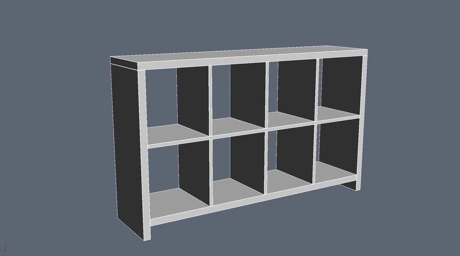 Soho shelf royalty-free 3d model - Preview no. 4