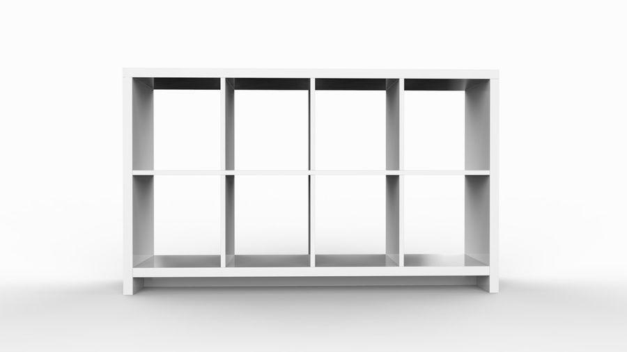 Soho shelf royalty-free 3d model - Preview no. 2