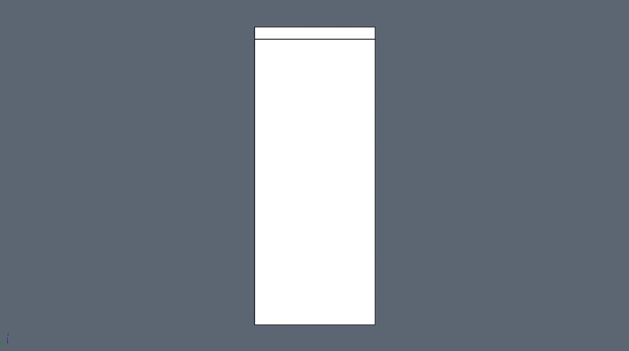 Soho shelf royalty-free 3d model - Preview no. 6