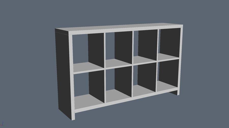 Soho shelf royalty-free 3d model - Preview no. 3