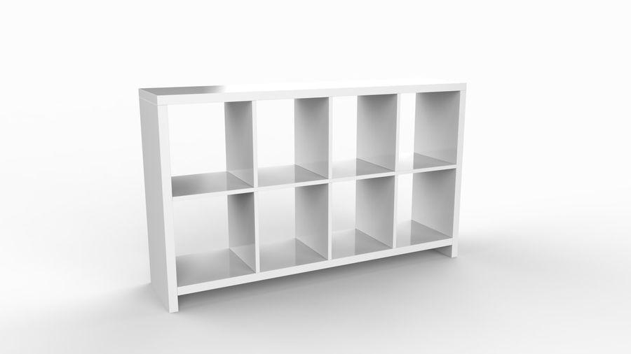 Soho shelf royalty-free 3d model - Preview no. 1