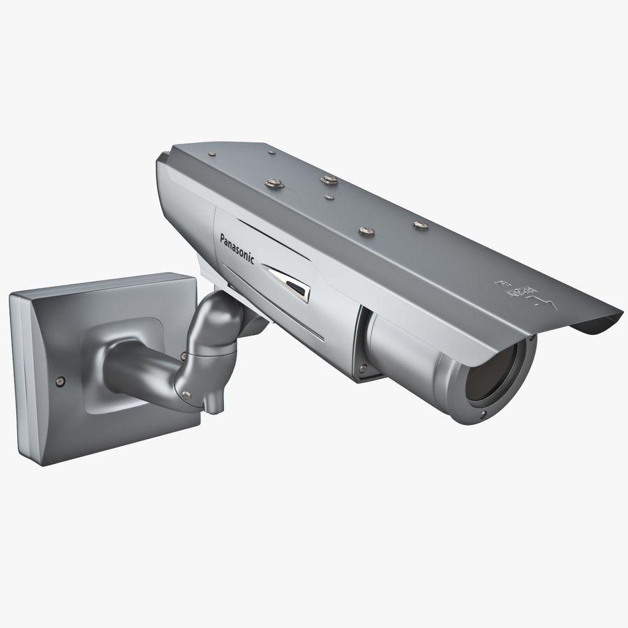 Kamera Panasonic WV-CW380 royalty-free 3d model - Preview no. 4