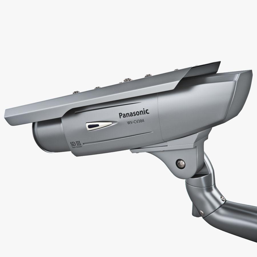 Kamera Panasonic WV-CW380 royalty-free 3d model - Preview no. 6