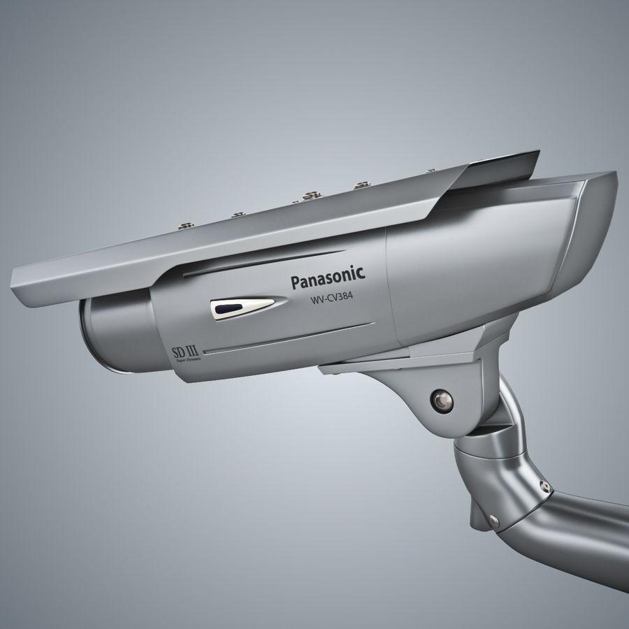Kamera Panasonic WV-CW380 royalty-free 3d model - Preview no. 10