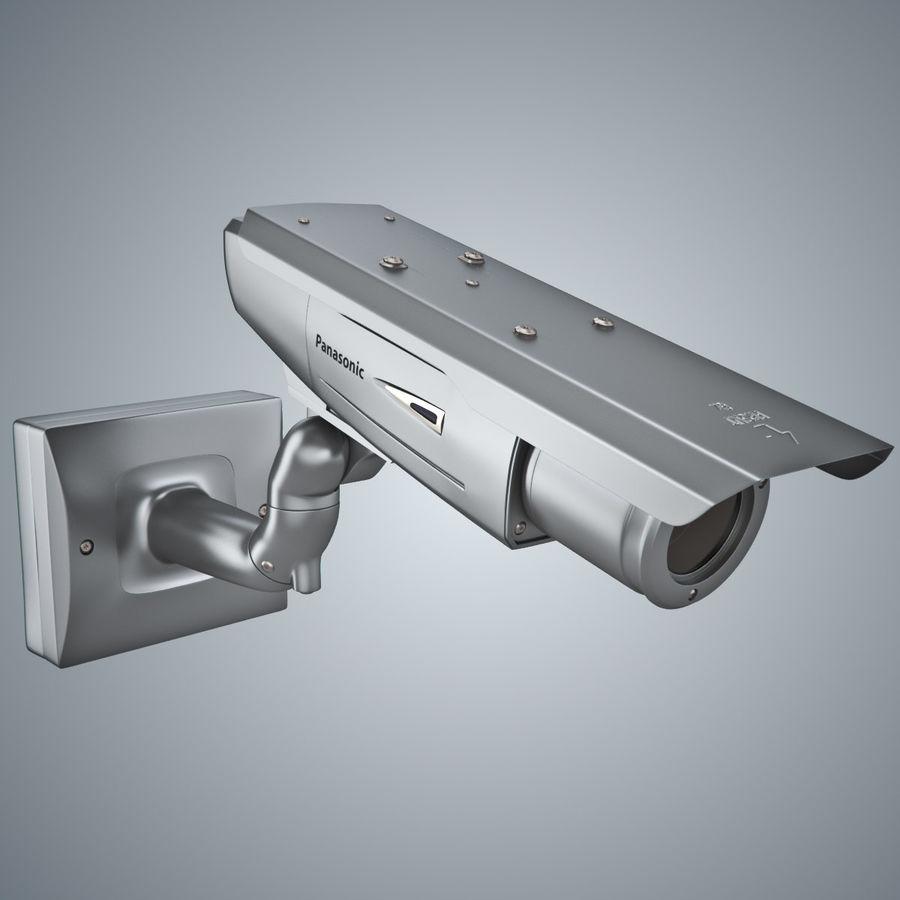 Kamera Panasonic WV-CW380 royalty-free 3d model - Preview no. 8