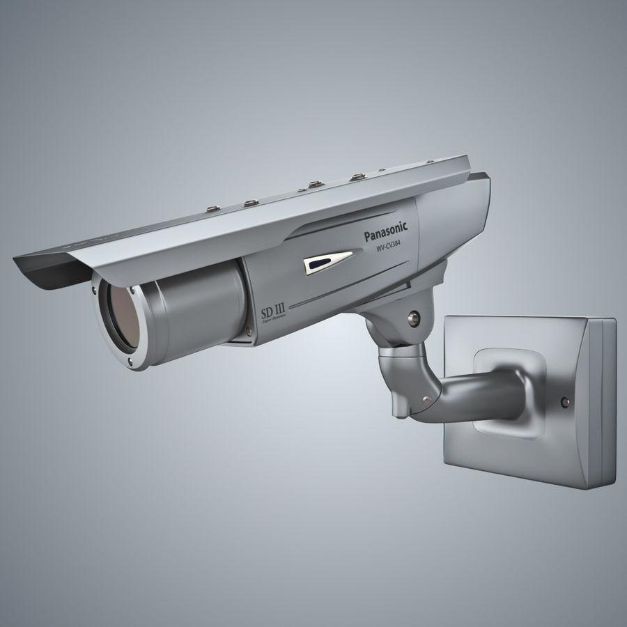 Kamera Panasonic WV-CW380 royalty-free 3d model - Preview no. 2