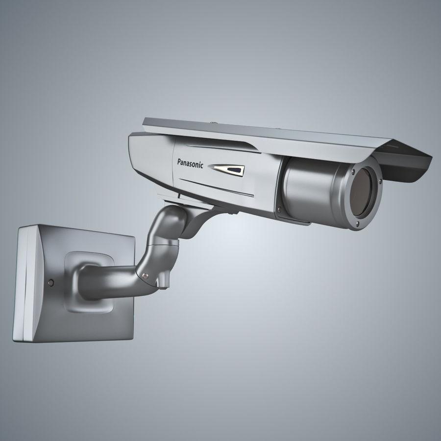 Kamera Panasonic WV-CW380 royalty-free 3d model - Preview no. 9
