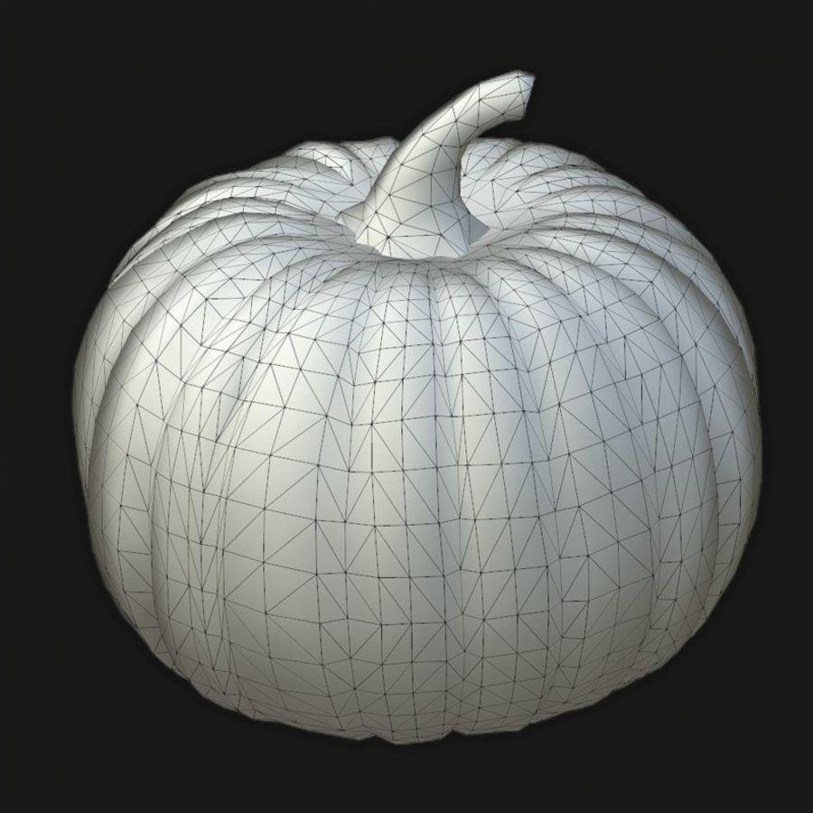 Pumpkin royalty-free 3d model - Preview no. 6