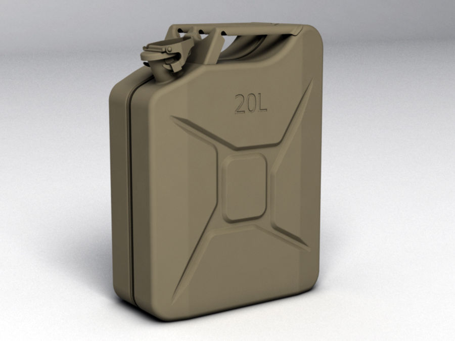 Jerry Can royalty-free 3d model - Preview no. 1