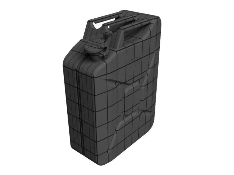 Jerry Can royalty-free 3d model - Preview no. 4