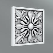 Square Decoration 26 3d model