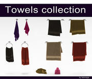 Towels Collection 3d model