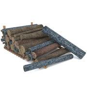 Log de madeira 2 3d model