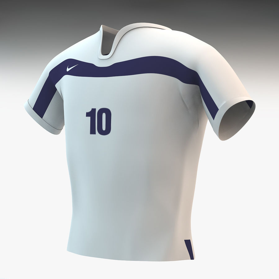 super popular 5f171 2a822 T shirt Nike soccer 3D Model $15 - .c4d .max .obj .fbx .dae ...