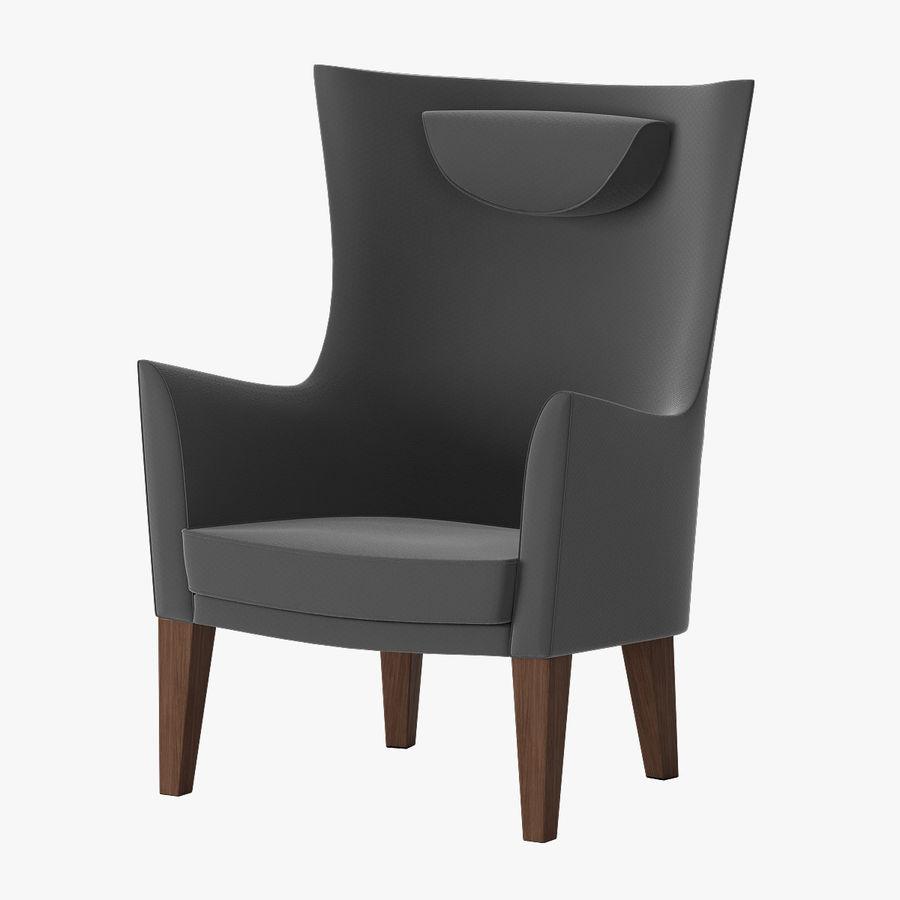 Ikea стокгольм кресло 3d модель 6 Max Free3d