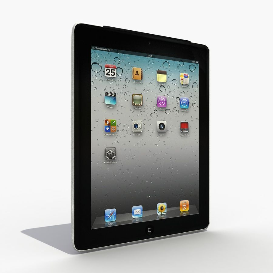 iPad royalty-free 3d model - Preview no. 2