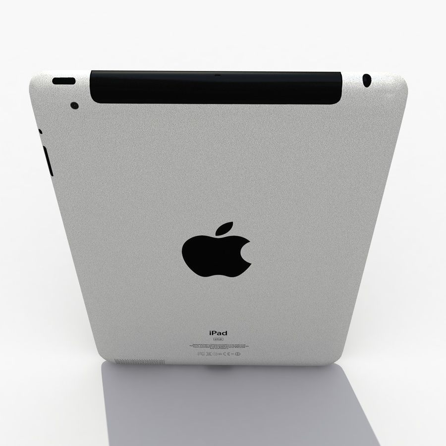iPad royalty-free 3d model - Preview no. 6
