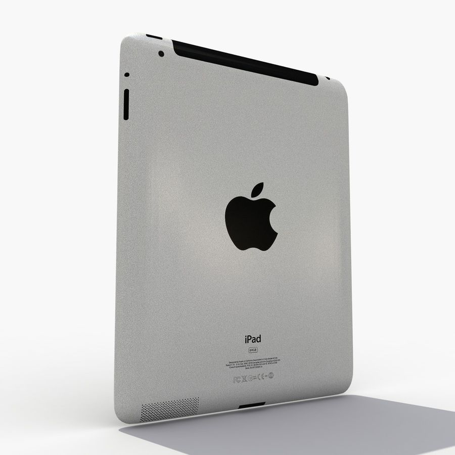 iPad royalty-free 3d model - Preview no. 4