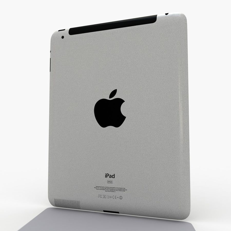 iPad royalty-free 3d model - Preview no. 5