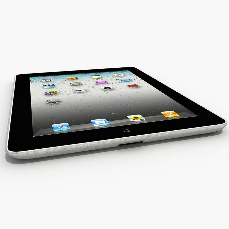 iPad royalty-free 3d model - Preview no. 7