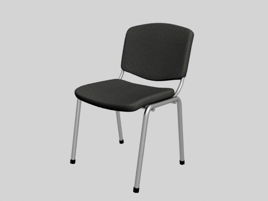 Sedia da ufficio royalty-free 3d model - Preview no. 2