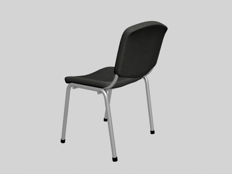 Sedia da ufficio royalty-free 3d model - Preview no. 3