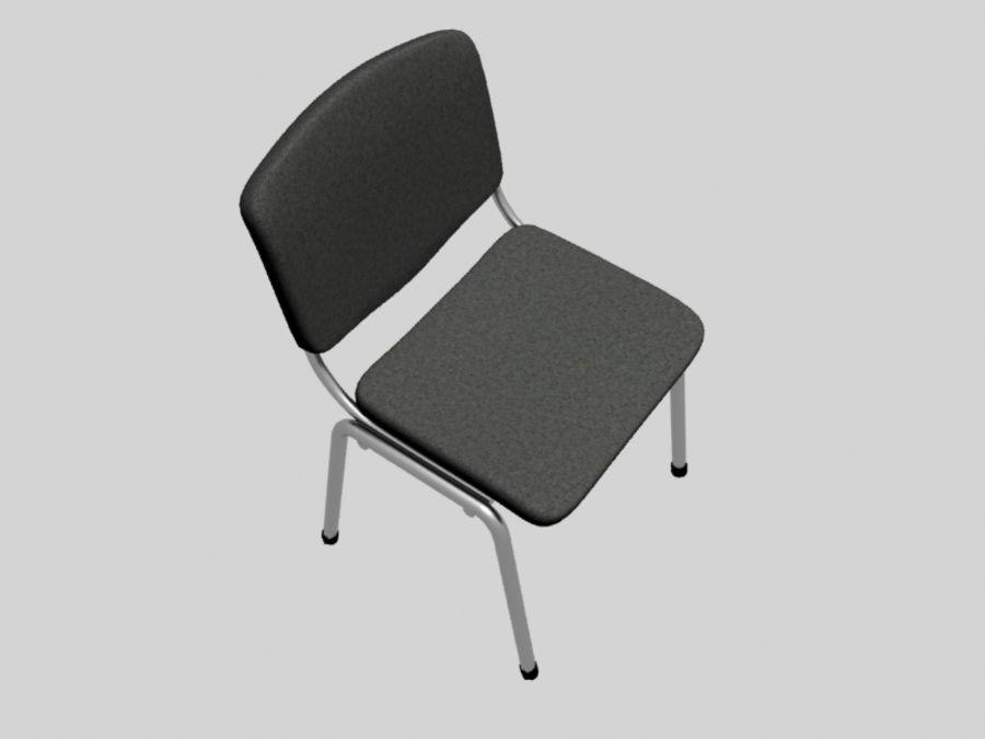 Sedia da ufficio royalty-free 3d model - Preview no. 5