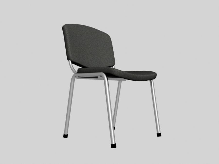 Sedia da ufficio royalty-free 3d model - Preview no. 4