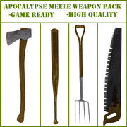 Meele Weapon Pack 3d model