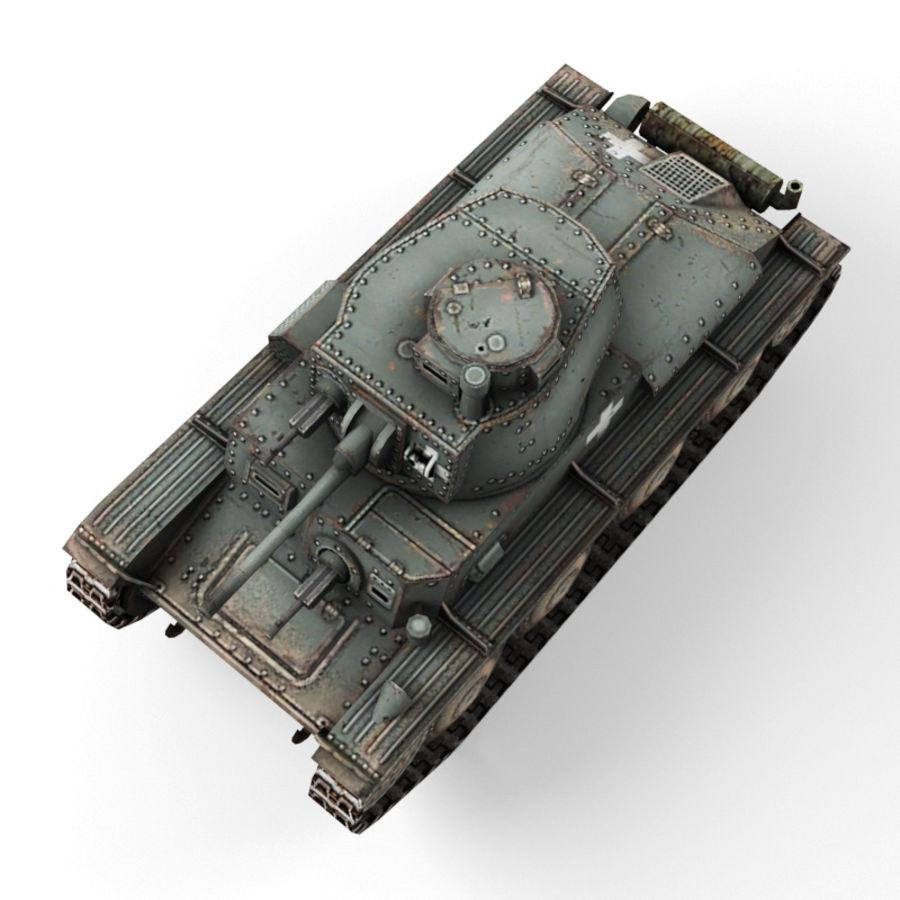 Pz 38 royalty-free 3d model - Preview no. 9