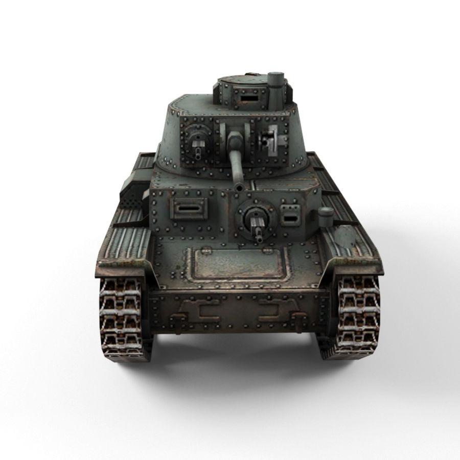 Pz 38 royalty-free 3d model - Preview no. 8