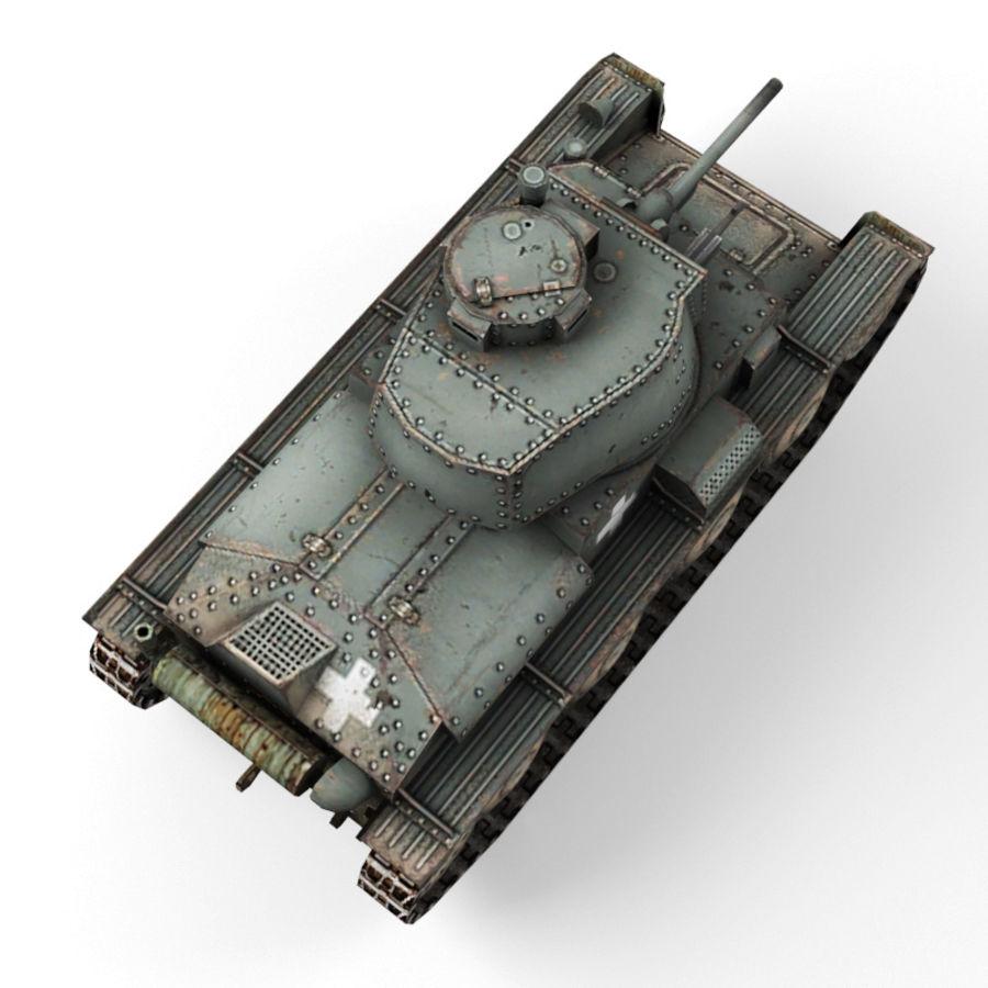 Pz 38 royalty-free 3d model - Preview no. 10
