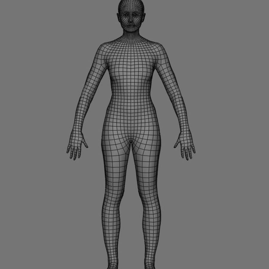 Generic Human - Topology Wireframe - Maya 3D Model $25 -  ma