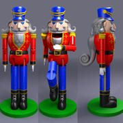 nutcracker 3d model