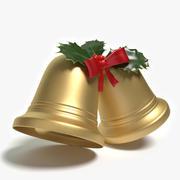 Campane di Natale 3d model