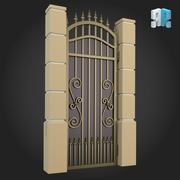 Gate 004 3d model