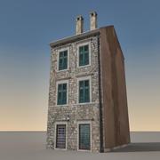 Italian Building 014 3d model