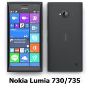 Nokia Lumia 730/735 Black 3d model