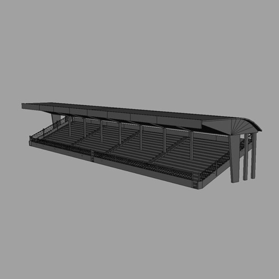 Bleachers royalty-free 3d model - Preview no. 6