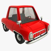samochód kreskówki 3d model